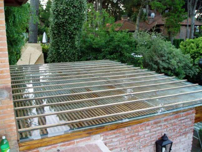 Mamparas Para Baño San Justo:Alero de vidrio